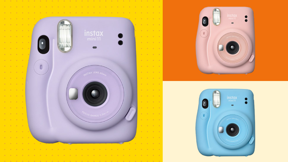 Cute and Compact: The New Instax Mini 11 Cameras Come in Pastel Colors
