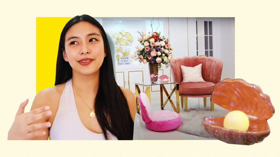 Gabbi Garcia Gives a Full Tour of Her Tropical, White & Gold Home