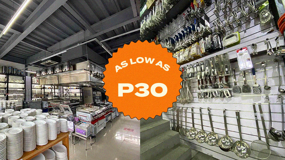 Here's Where You Can Buy Kitchen Essentials for as Low as P30