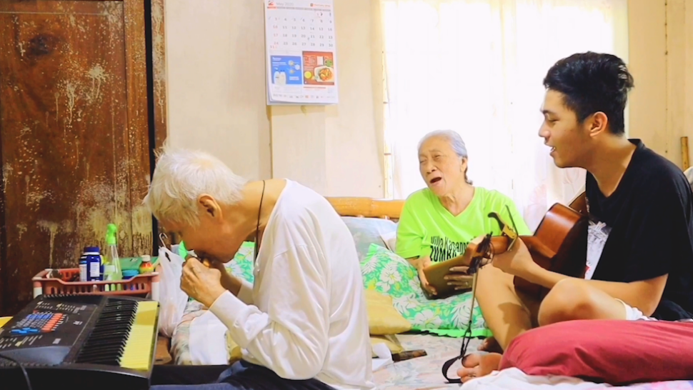WATCH: Grandparents and Their Apo Perform Cover of