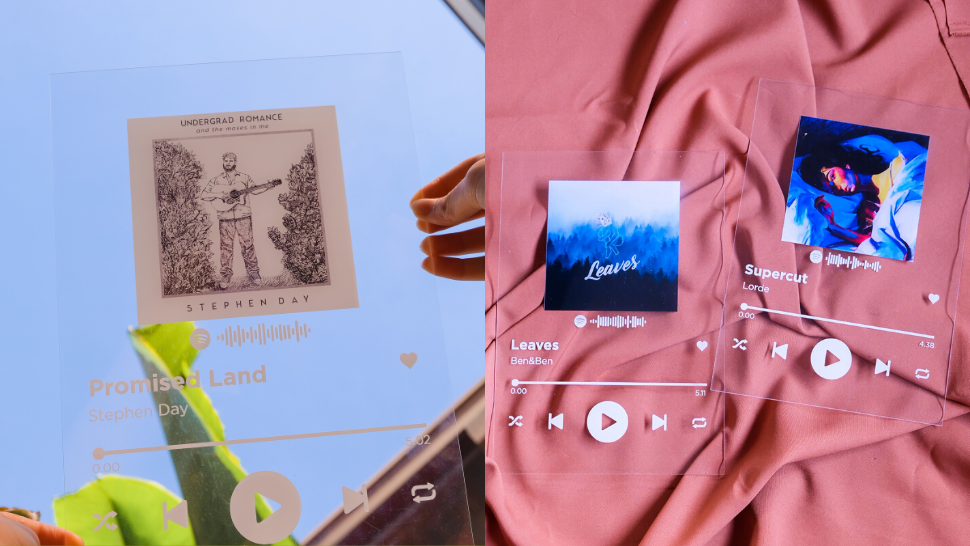 Here's Where You Can Order A Personalized Acrylic Spotify Plaque