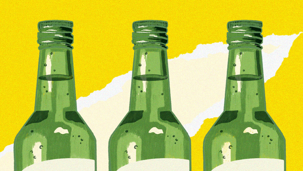 Here's How Many Calories There Are In A Serving Of Soju