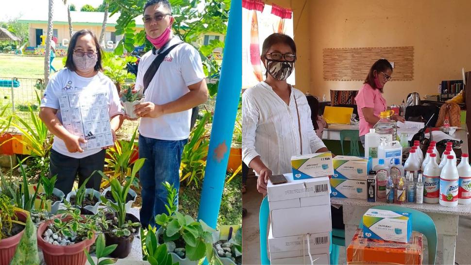 Teachers Barter Plants in Exchange for School Supplies for Students