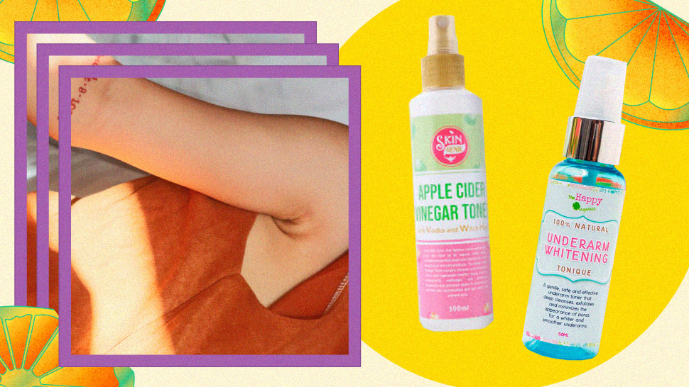Here's Why More People are Applying Toner on Their Armpits
