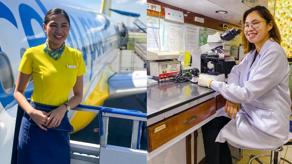 Former Flight Attendant Switched Careers To Be A Medical Technologist During The Pandemic