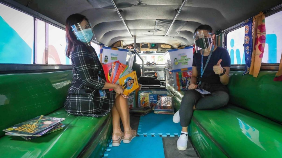 Old Jeepneys in Makati to Be Turned Into Mobile Learning Hubs