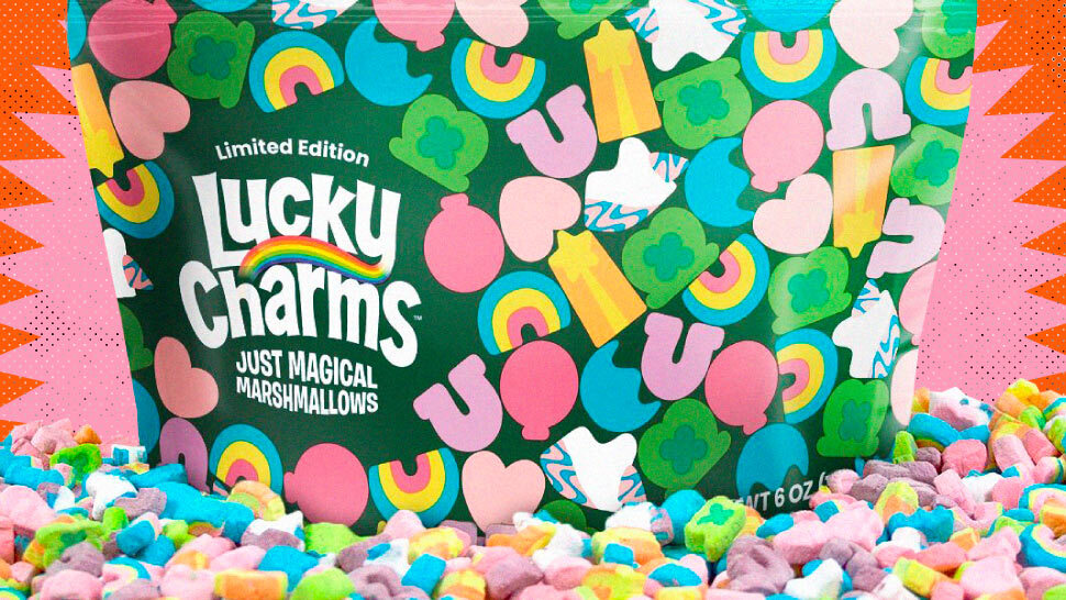 Lucky Charms Will Release 'Just Magical Marshmallows' for a Limited Time