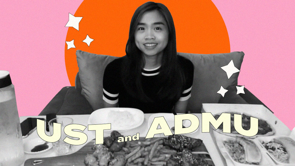 Gwy Saludes Talks About Adjusting Between UST and ADMU Campus Cultures