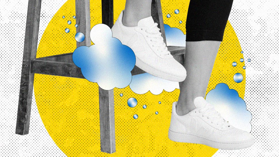 The Proper Way to Clean Your White Sneakers