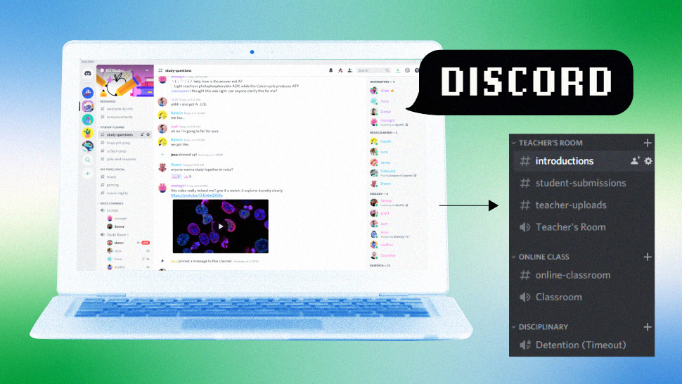 Pinoy Streamer's Discord Tutorial on How to Conduct Classes with Less Data