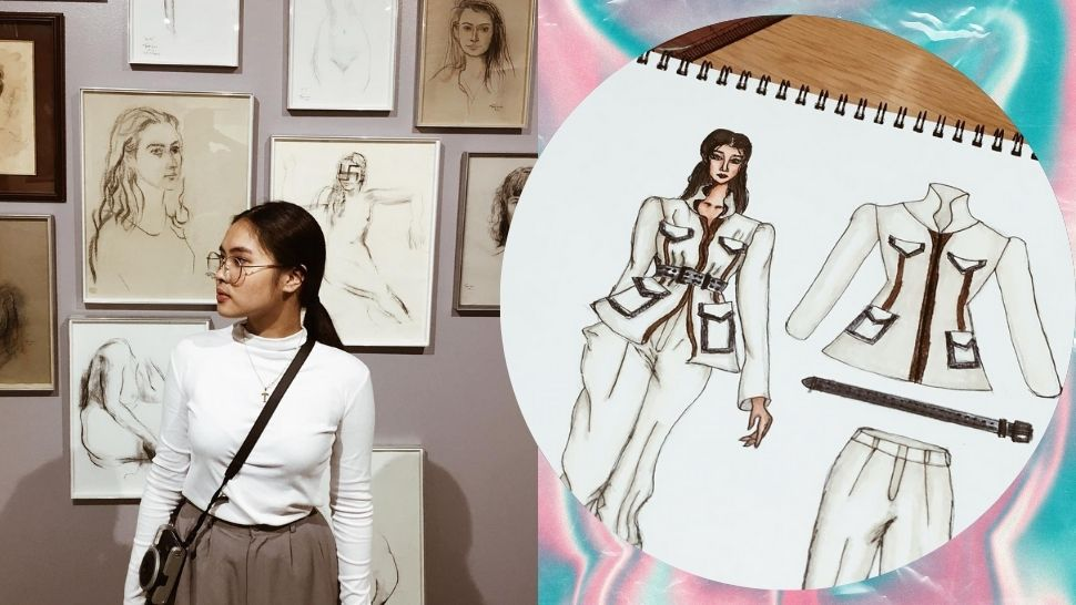 What Online Classes Are Like for This Fashion Student