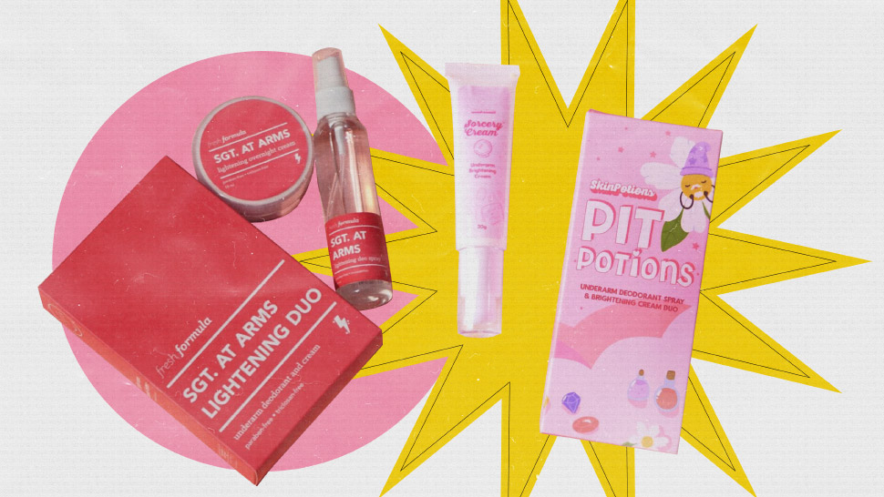 5 Affordable Underarm Brightening Kits You Can Use at Home