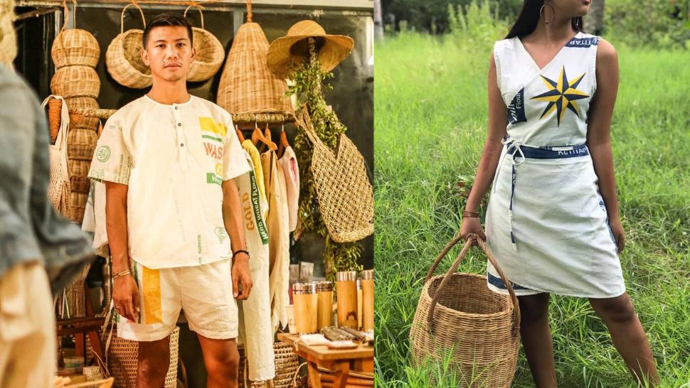 This Online Shop Creates Clothes Using Flour Sacks or Katsa
