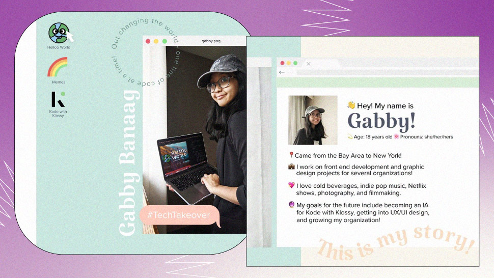 This 18-Year-Old Pinay Coder Got Featured on Karlie Kloss' IG