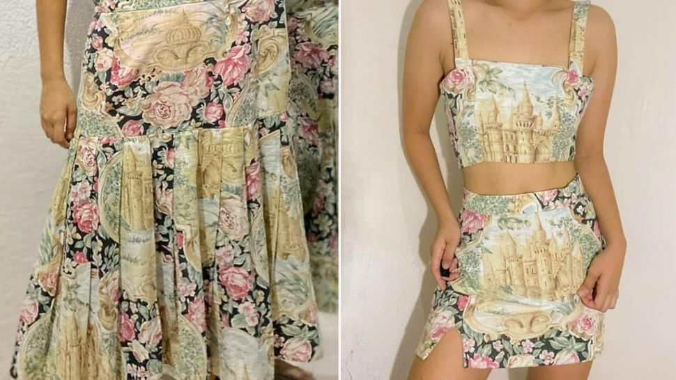 This Filipina Student Transforms Old Clothes Into Trendy Pieces