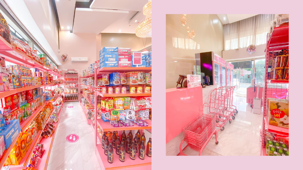 This All-Pink Korean and Japanese Grocery in QC Also Has a Nail Salon!