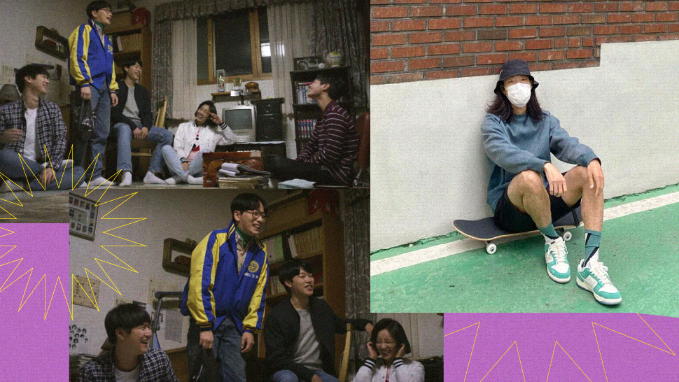 So Cute, These 'Reply 1988' Stars Just Went Skateboarding Together