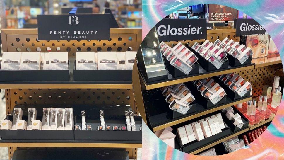 You Can Finally Shop Glossier, Fenty Beauty in Manila
