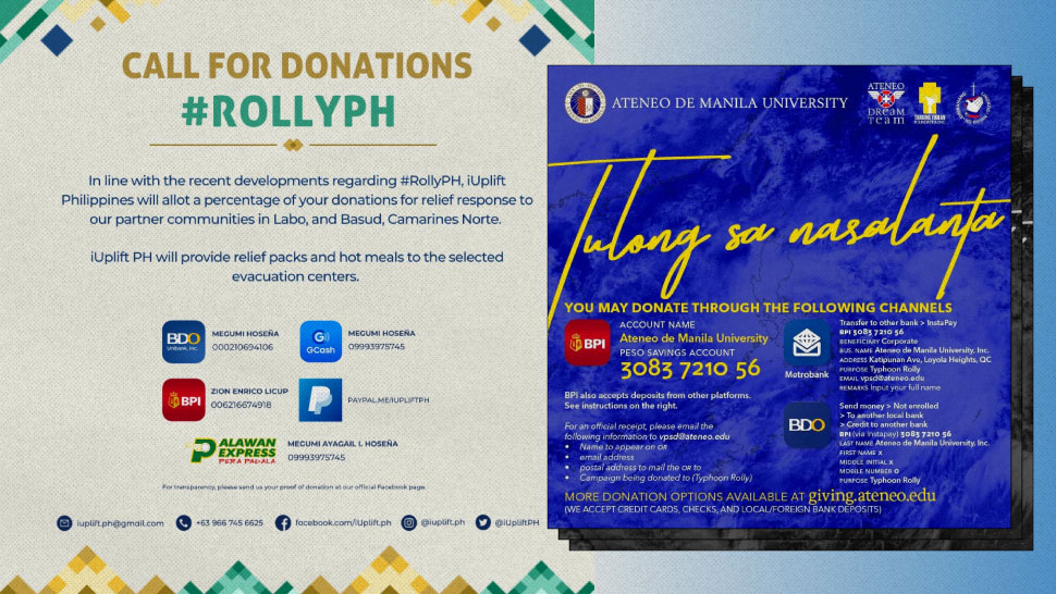 Where to Donate to Help Communities Affected by Typhoon #RollyPH