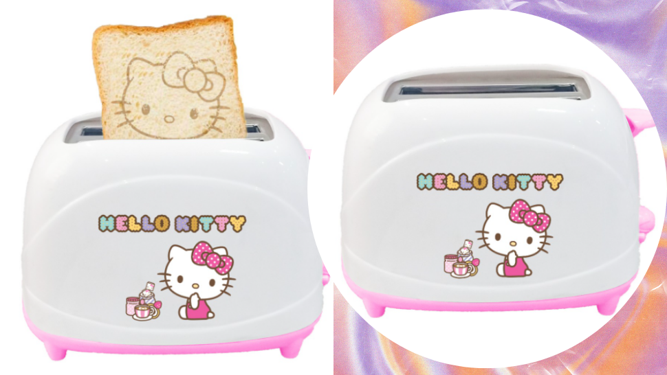 Cute, This Hello Kitty Toaster Puts the Iconic Logo on the Bread Itself