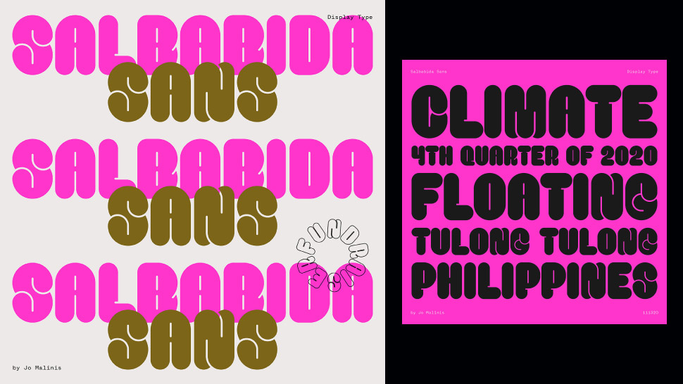 This Pinay-Made Font Is Inspired by the 'Salbabida,' Meant to Literally Save Lives