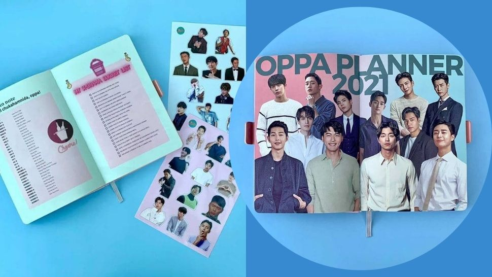 This 2021 Planner Features Your Favorite K-Drama Oppas
