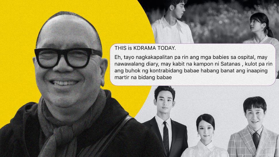 Direk Joey Reyes Goes Viral for Analogy Between Korean Dramas and Pinoy Teleseryes