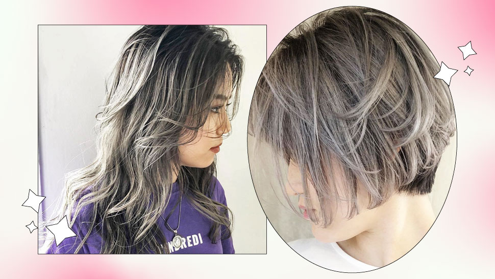 How to Achieve the Silver Gray Hair Color You've Been Seeing on IG