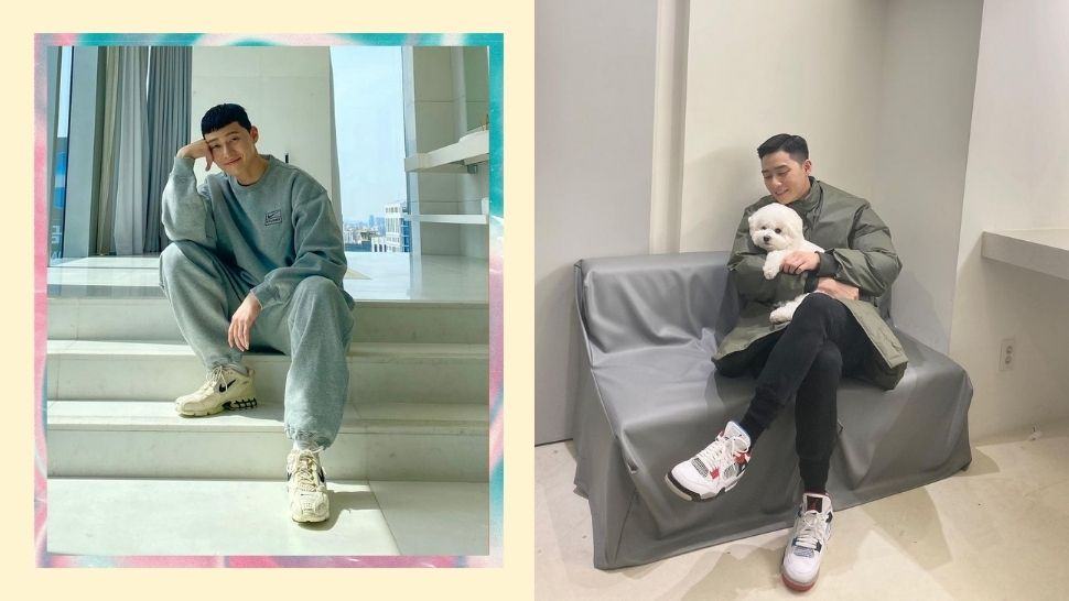 8 of Park Seo Joon's Most Stylish Sneakers, and How Much They Cost