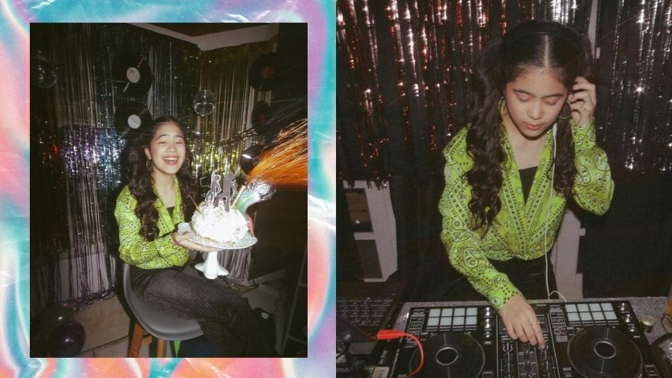 Niana Guerrero Had the Coolest Disco-Themed 15th Birthday