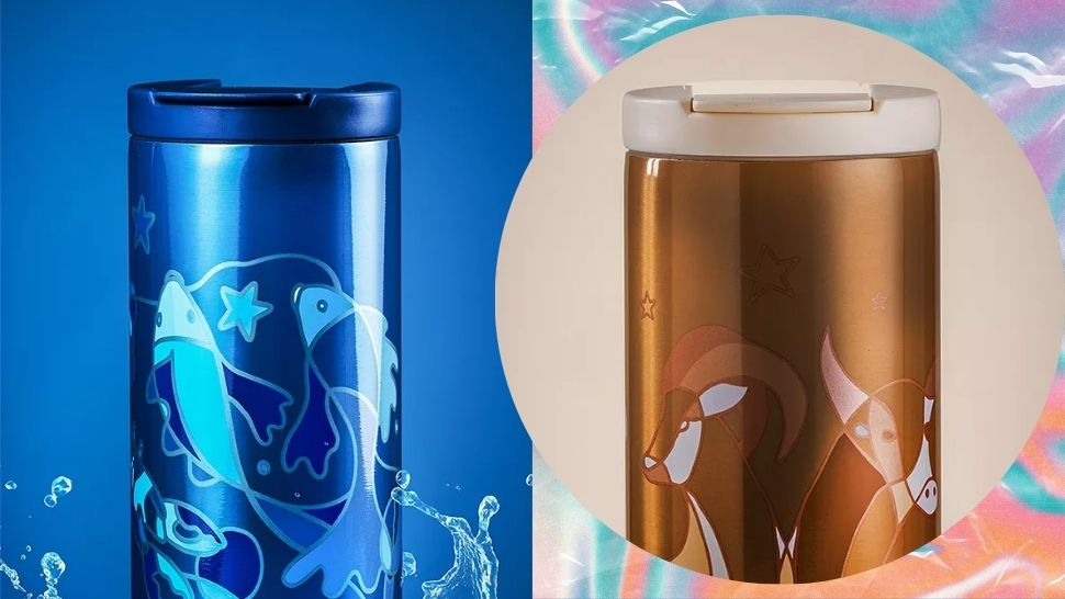 Astrology Fans, These Starbucks Elemental Zodiac Tumblers Are for You