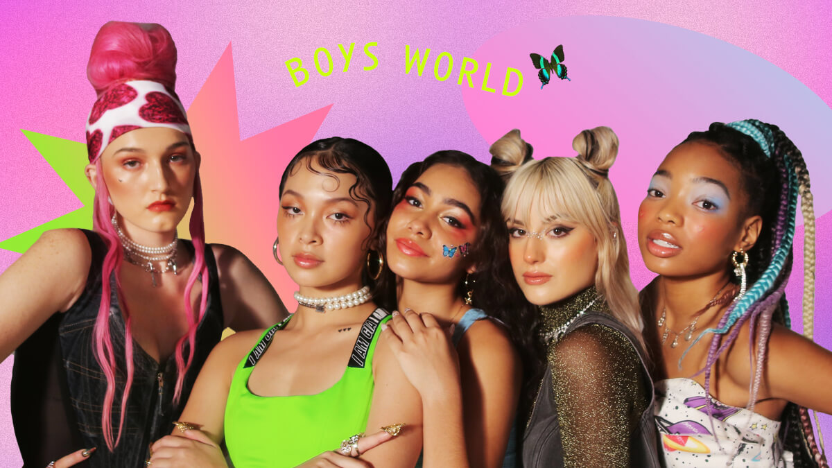 Boys World, Gen Z's Newest Girl Group, First Gained Their Following on Tiktok
