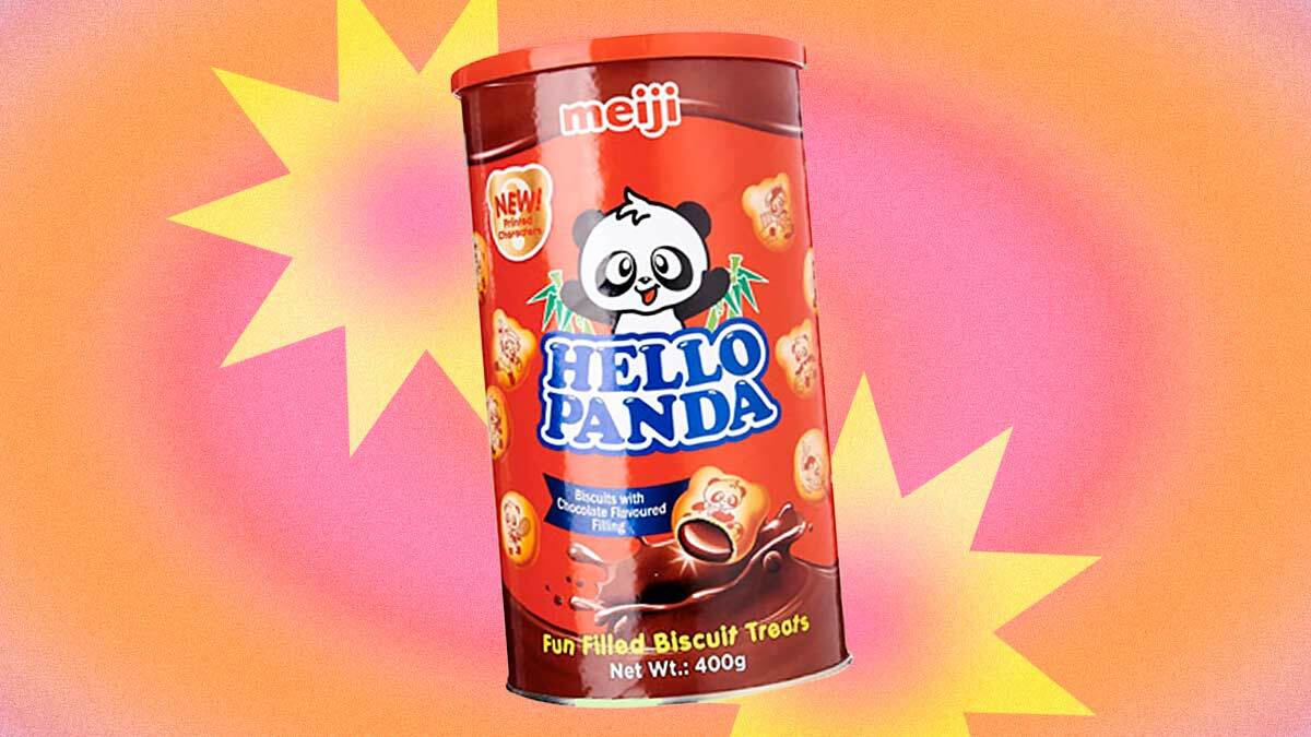 Hello Panda's Classic Chocolate-Filled Biscuits Now Come In a Larger Tub