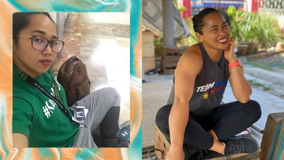 What It's Like to Train for the Olympics While Attending Online Classes, According to Hidilyn Diaz
