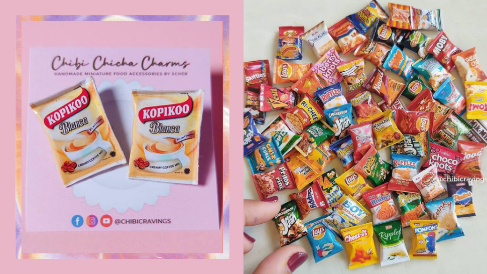 This Pinay Makes Earrings Designed As Your Favorite Local Snacks