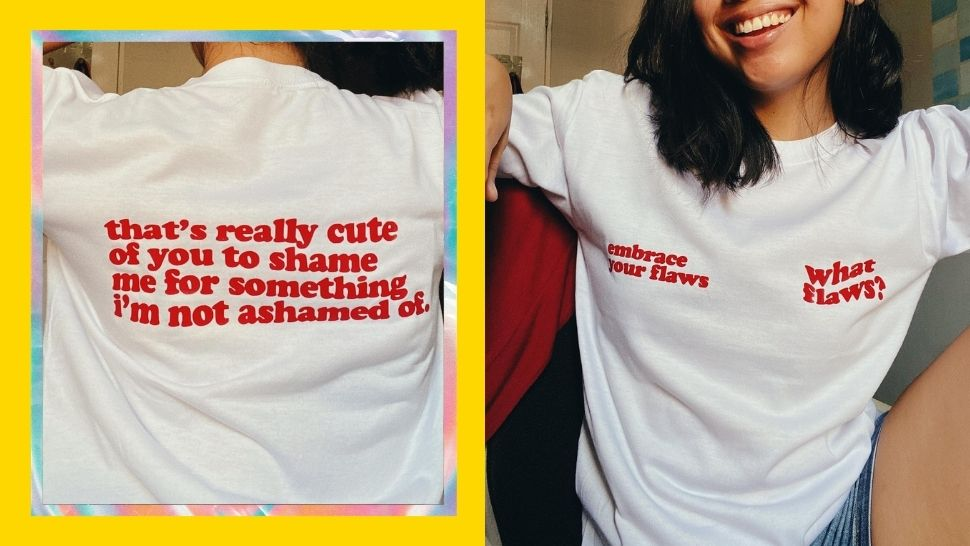 Content Creator Gets Body-Shaming Comments, so She Made Statement Shirts Out of Them