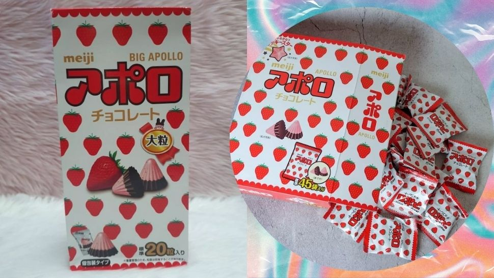 Here's Where You Can Get This Giant Box of Meiji Apollo