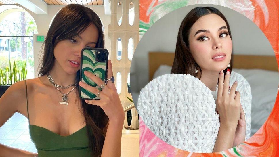 Olivia Rodrigo Reacts to Being Called Catriona Gray's 'Lookalike'