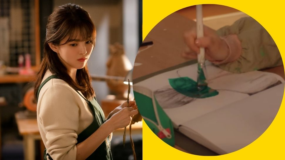 Did You Know? Han So Hee Drew Her Character's Artworks for 'Nevertheless' Herself
