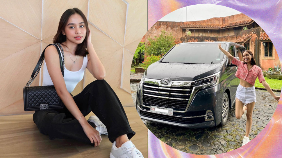 WATCH: Bella Racelis Just Bought Her *First* Car