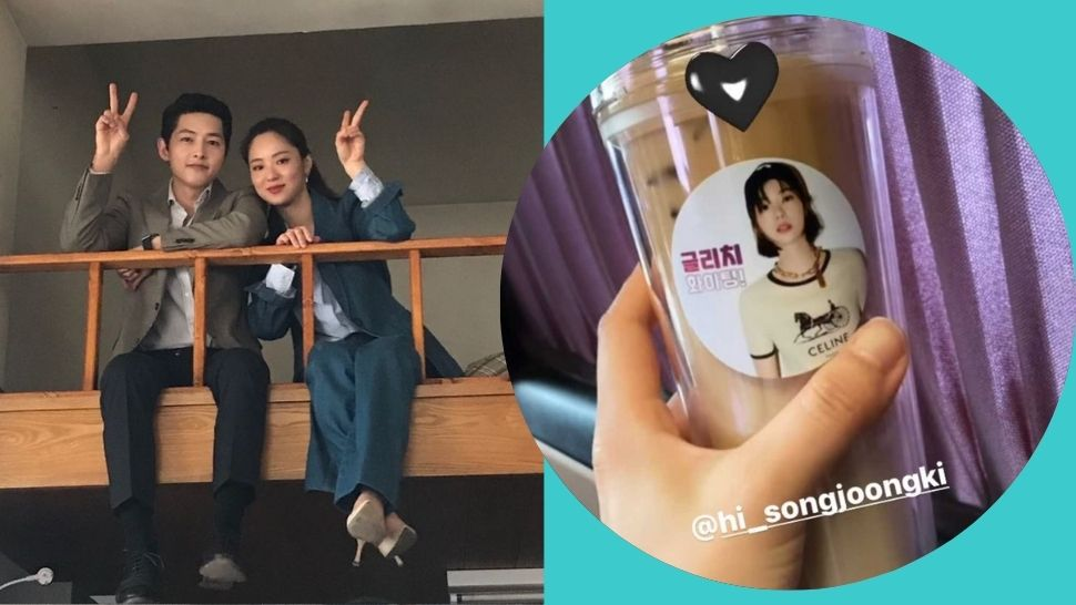 Song Joong Ki Sent a Coffee Truck to Jeon Yeo Bin and It's More Special Than You Think