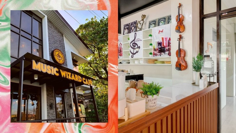 This Music-Inspired Cafe in Angono Features Artwork by Famous Local Artists
