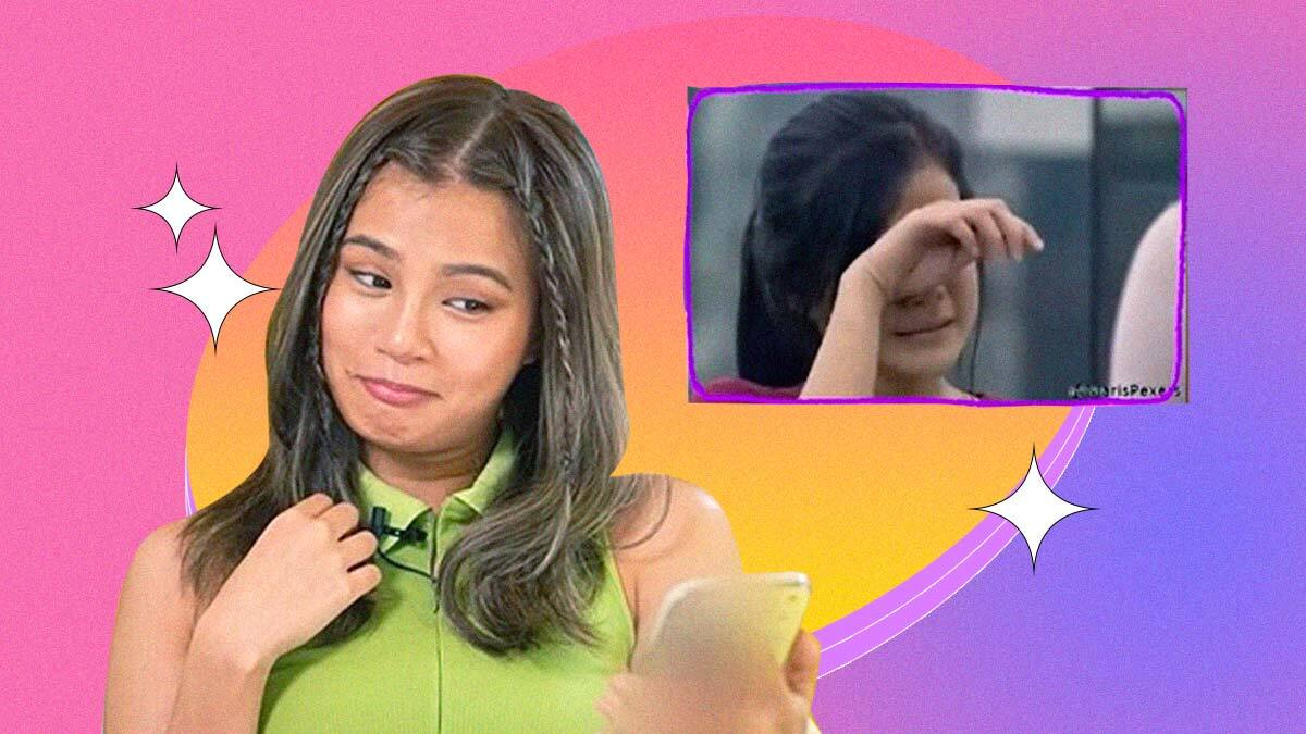 Maris Racal Has the Funniest Reactions to Her Old PBB Videos (As Usual)