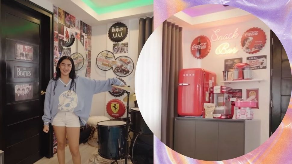 Andrea Brillantes Has a Vintage-Inspired Snack Bar in Her New Bedroom