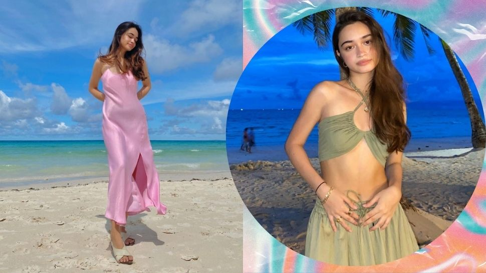 10 Colorful & Fresh Beach Outfit Ideas to Cop from Angelina Cruz