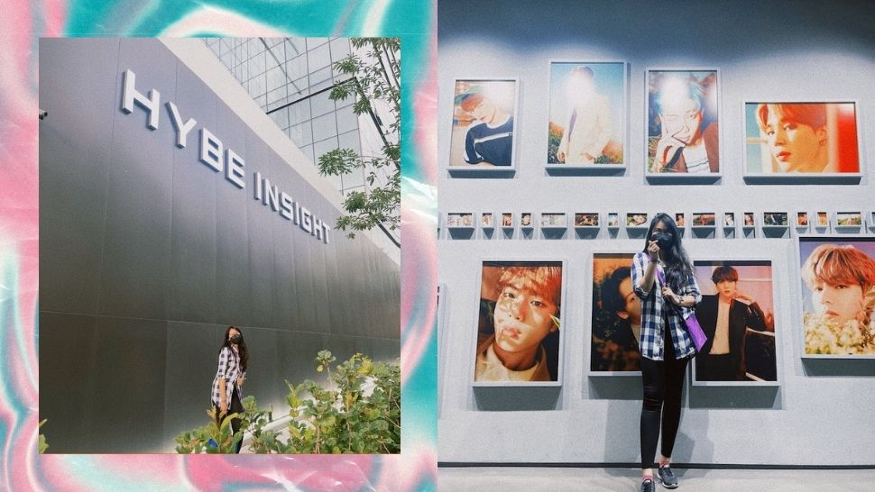 This Pinay Gives a Sneak Peek of the New HYBE Museum in South Korea