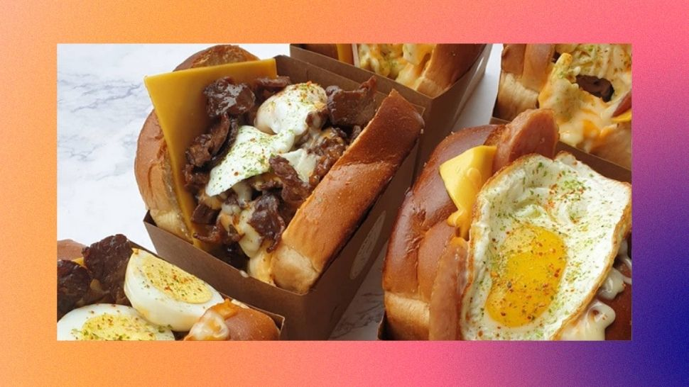 Where to Buy Egg Drop Sandwiches in Manila