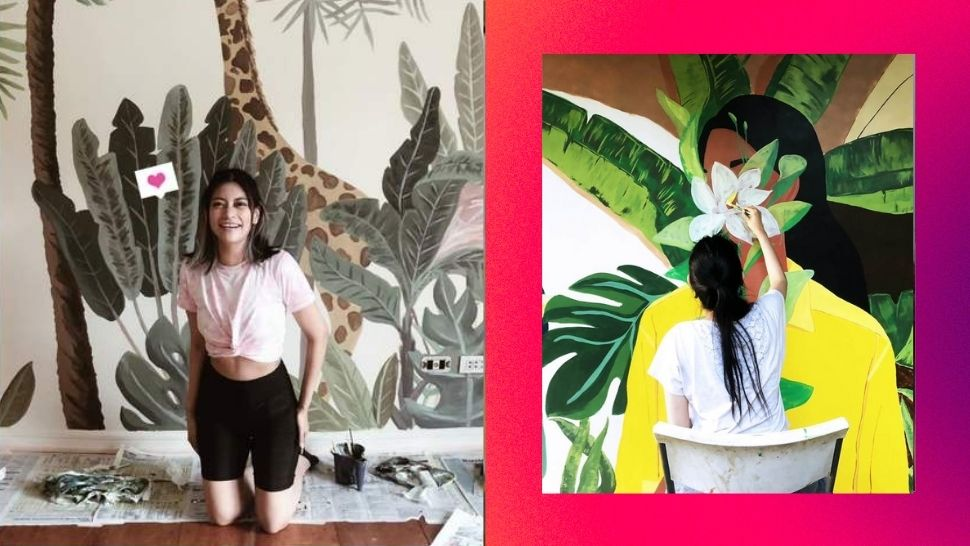 Here's How This Pinay Artist Found Work Painting Murals