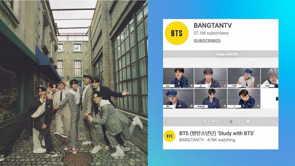 No, It's Not Fan-Made: BTS Actually Streamed a 'Study With BTS' Video