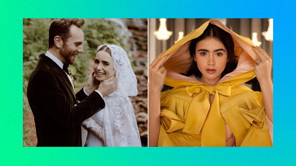 Lily Collins' Fairytale-Worthy Wedding Look Is a Reminder That She's the Fairest of Them All